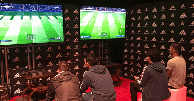 adidas fan activation zone