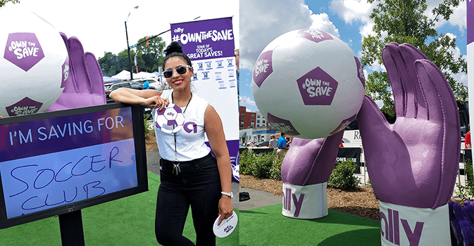 Ally fan activation zone